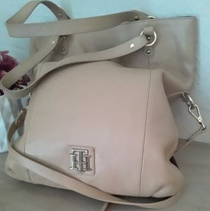 Tommy Hilfiger Large Tan Soft Leather Purse